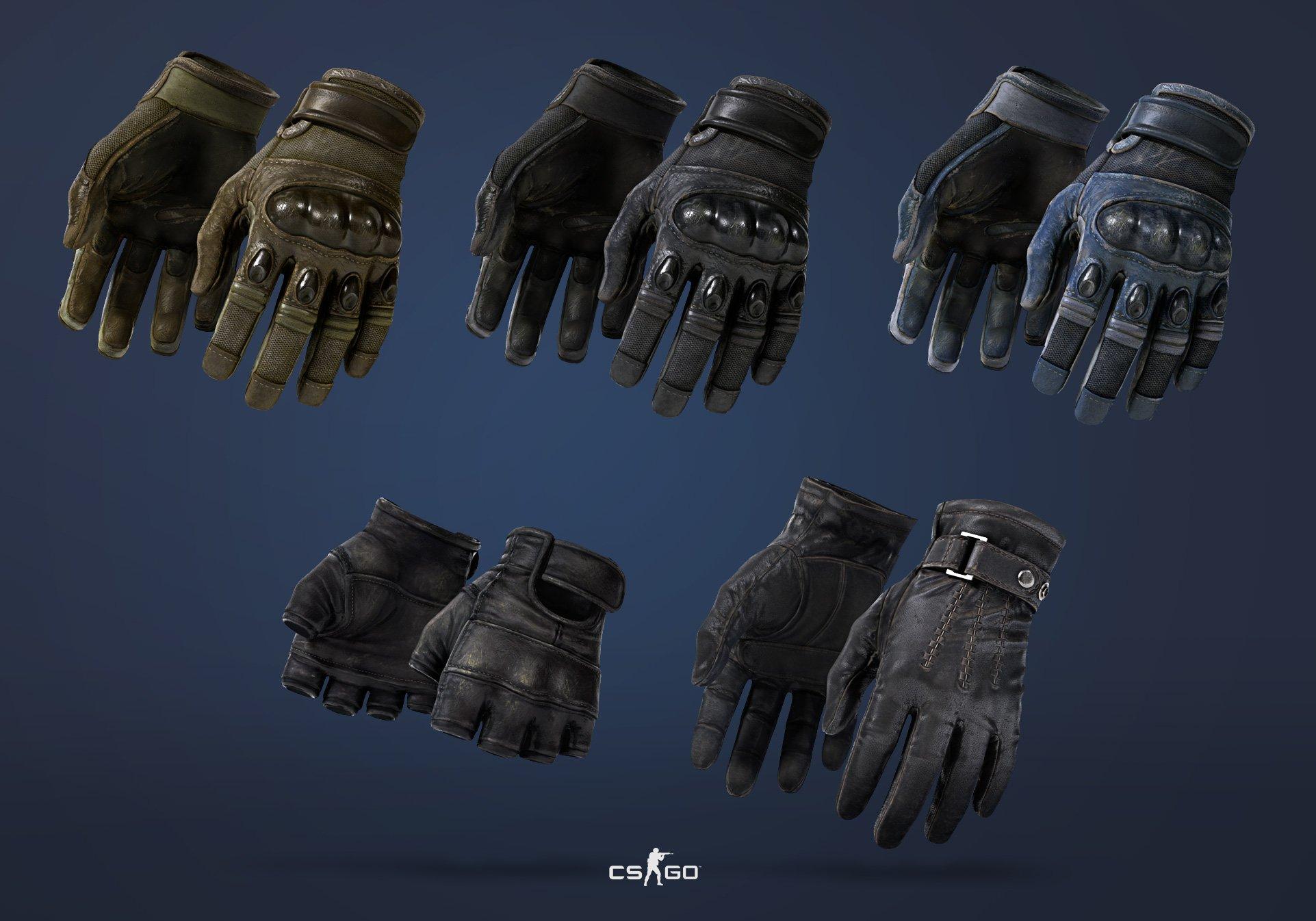 Виды перчаток в CS GO