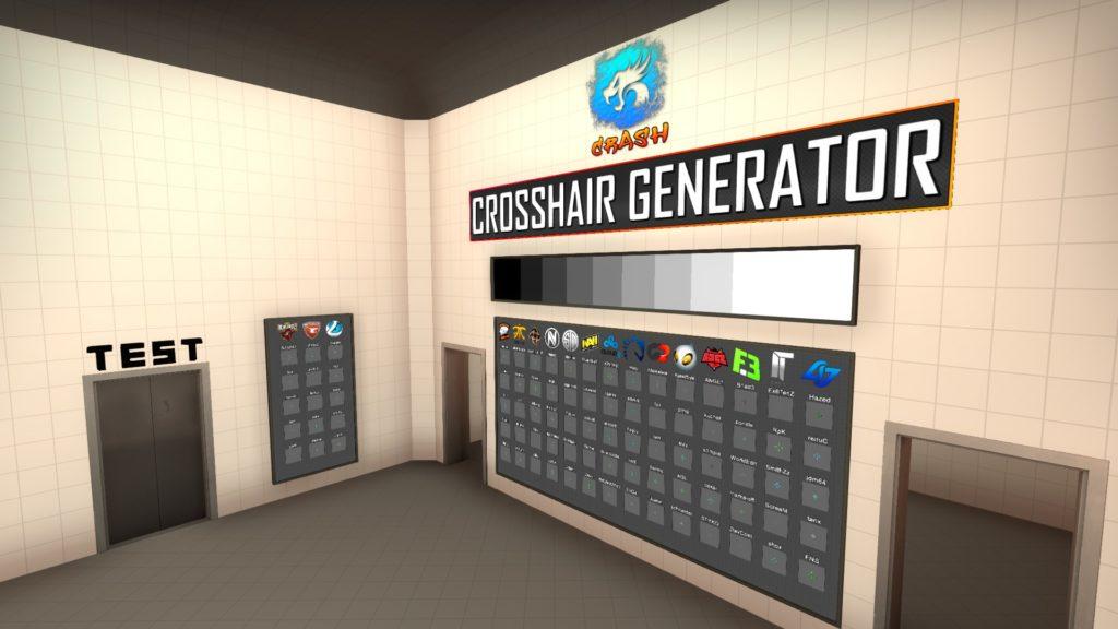 Карта для настройки прицела CS GO