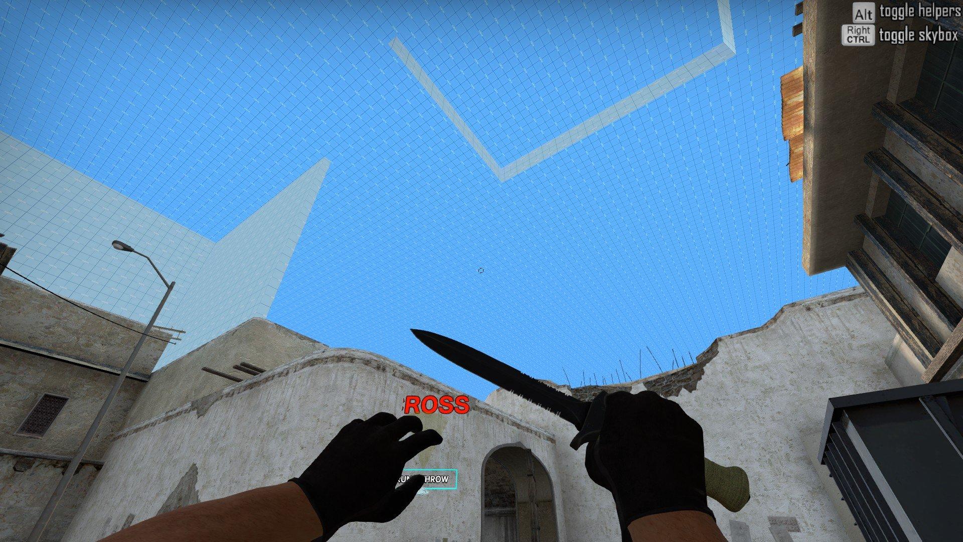 Карта для раскидки дыма de dust 2 в CS GO