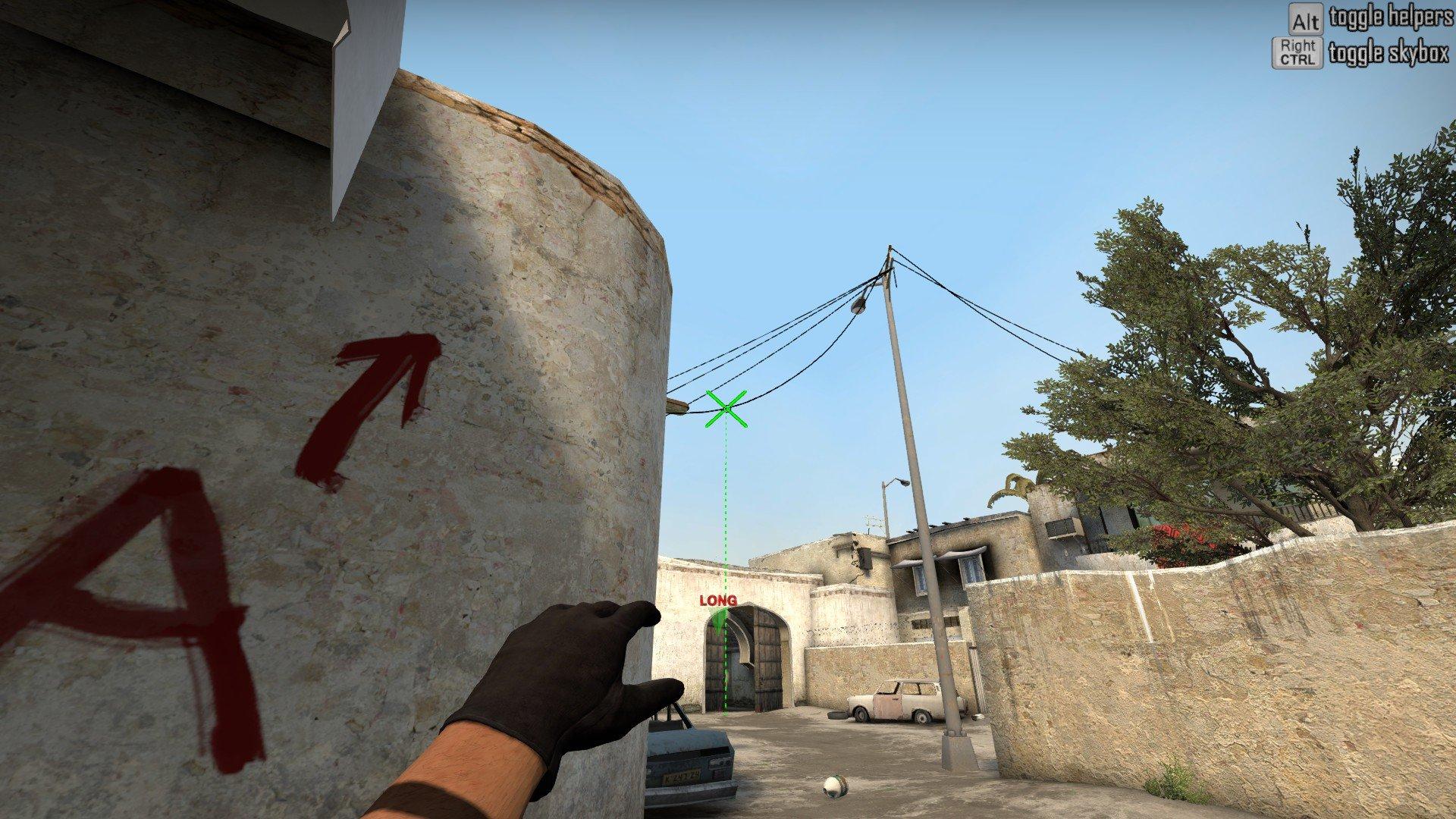 Карта для раскидки дыма de dust 2 CS GO