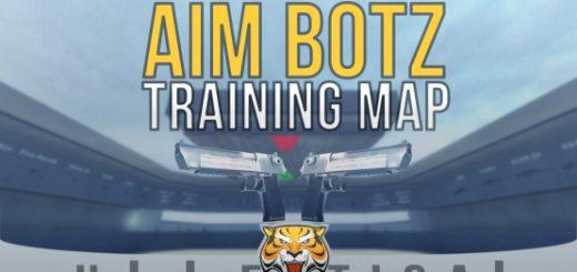 Карта для тренировки стрельбы (Aim Botz)