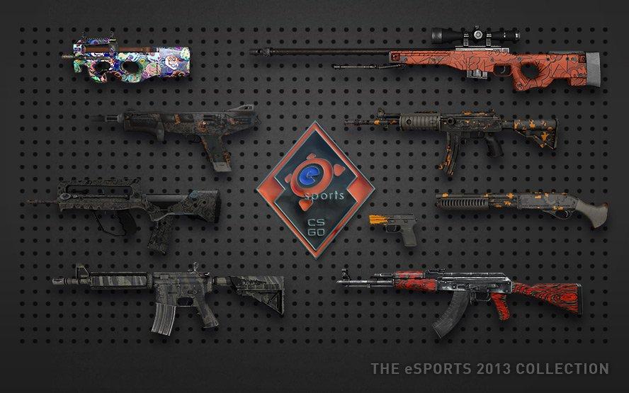Кейс eSports 2013 скины