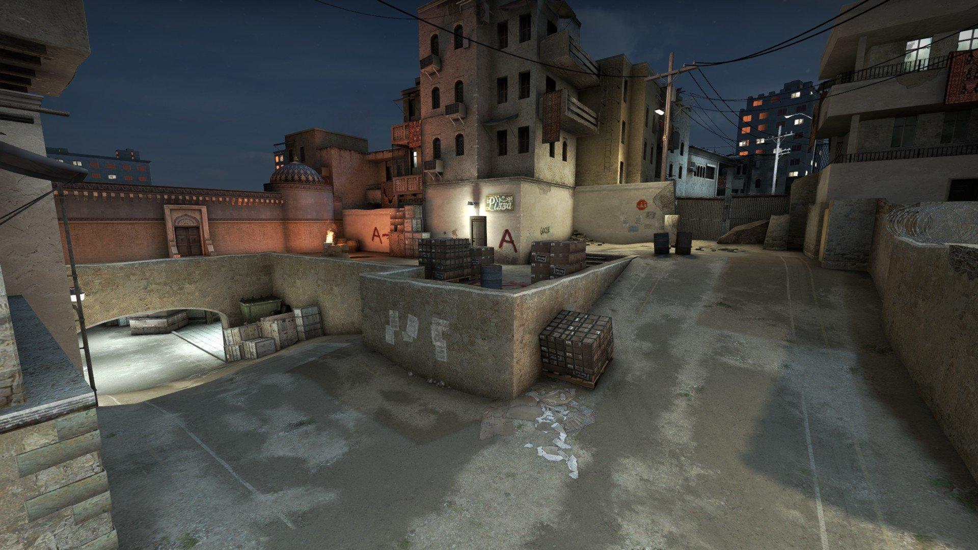 Ночной De_Dust 2