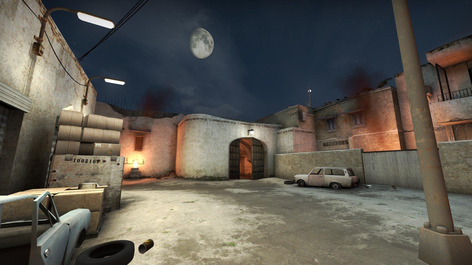 Ночной De_Dust2