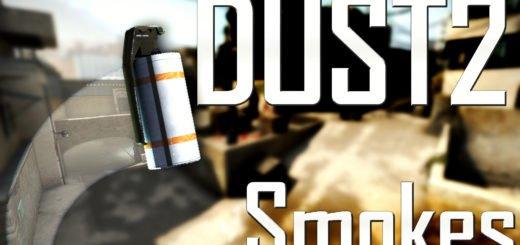 Карта для тренировки раскидки на De Dust 2