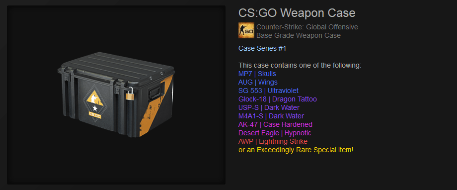 CSGO Weapon Case