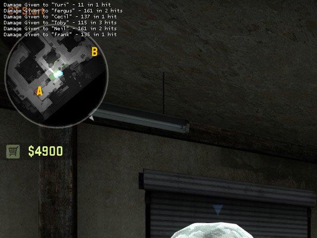 Как вывести нанесённый урон на экран КС ГО