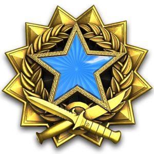 Медали за службу CS:GO 2017