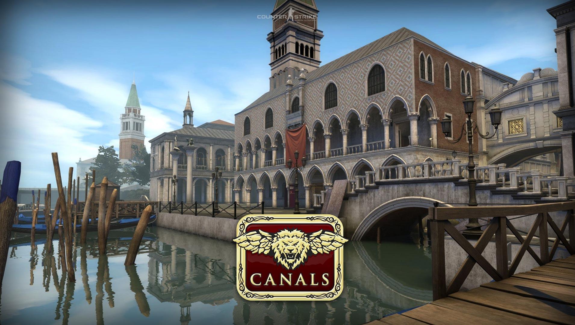 Новая карта 'Canals' CS:GO