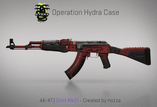 AK-47 | Orbit Mk01 - Скин из кейса Гидра