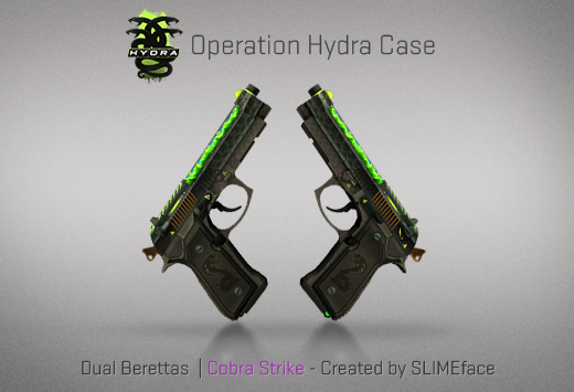 Dual Berettas | Cobra Strike - Скин из кейса Гидра
