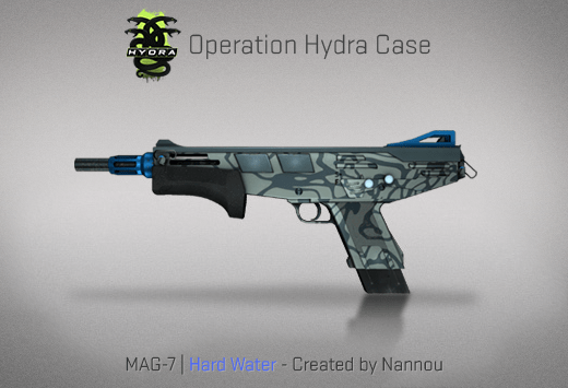 MAG-7 | Hard Water - Скин из кейса Гидра