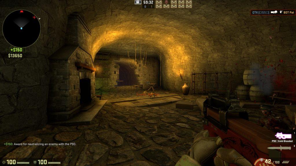 Карта на прохождение CS GO - Coop Mission Haunted