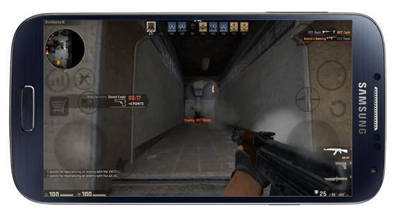 CS:GO ON ANDROID! GAMEPLAY HD and TUTORIAL - YouTube