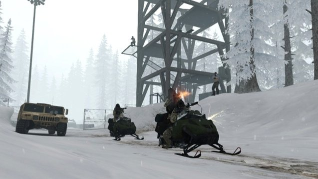 Карта на прохождение CS GO - Mission Escape