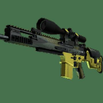 SCAR-20 Вихрь джунглей - скин из кейса Spectrum 2 Case