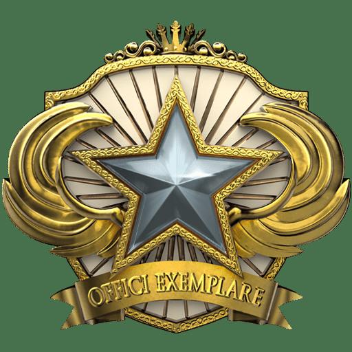Медаль за службу 2018 CS:GO