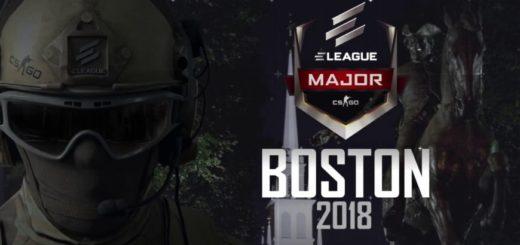 Сувенирный набор с ELEAGUE Major CS:GO Boston 2018