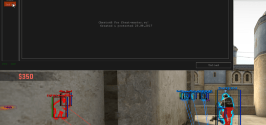Чит для CS:GO Glover 2.7 [ESP Name, BOX, Glow, chams]