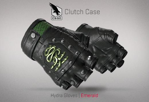 Hydra Gloves Emerald