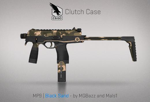 MP9 Black Sand