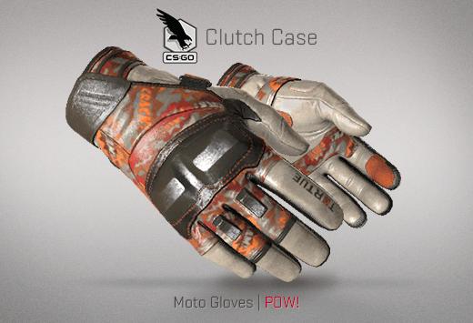 Moto Gloves POW
