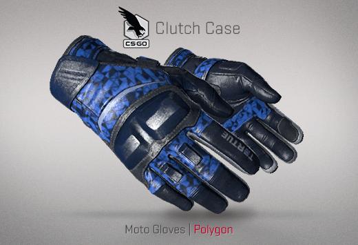 Moto Gloves Polygon