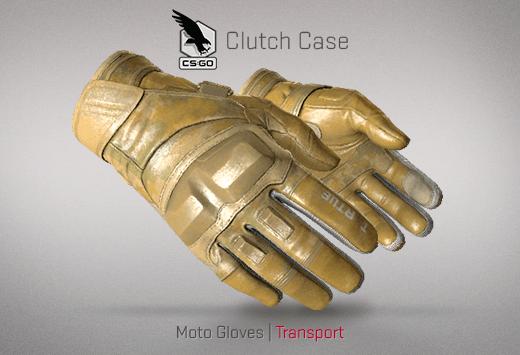 Moto Gloves Transport