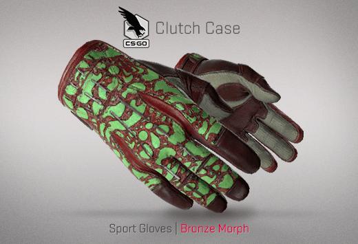 Sport Gloves Bronze Morph