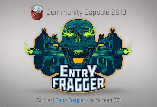 Sticker Entry Fragger
