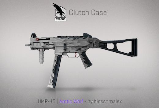 UMP-45 Arctic Wolf