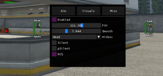 Чит x1337 Internal V2