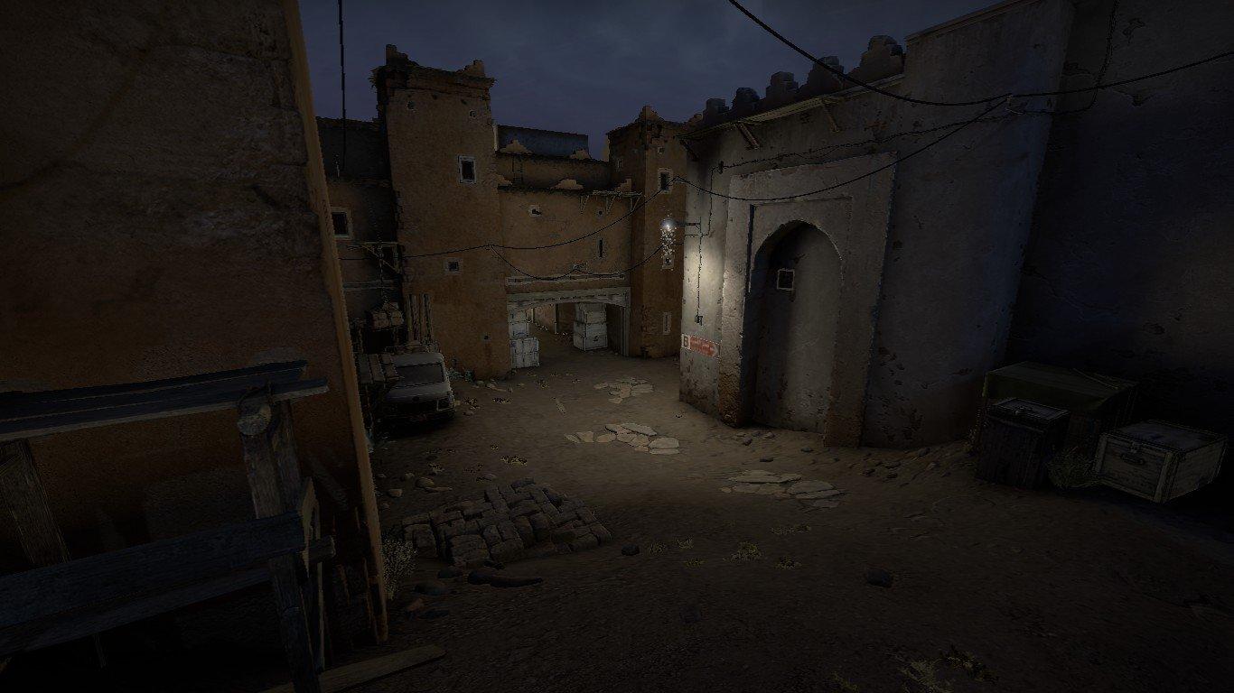 Новый ночной De Dust 2