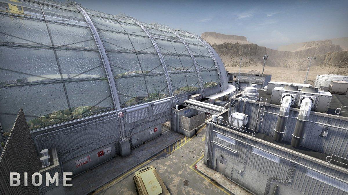 Карта Biome - обновление CS GO 10.10.2018