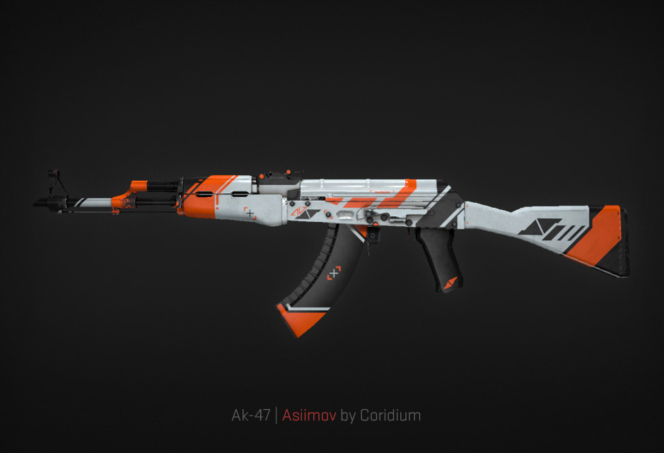 Ak-47 Asiimov by Coridium