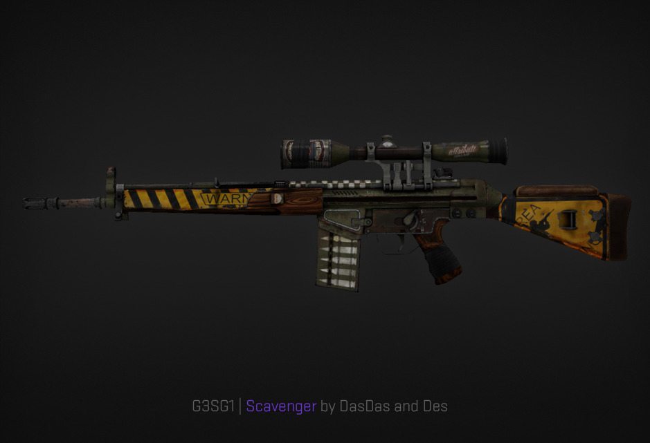G3SG1 Scavenger by DasDas and Des