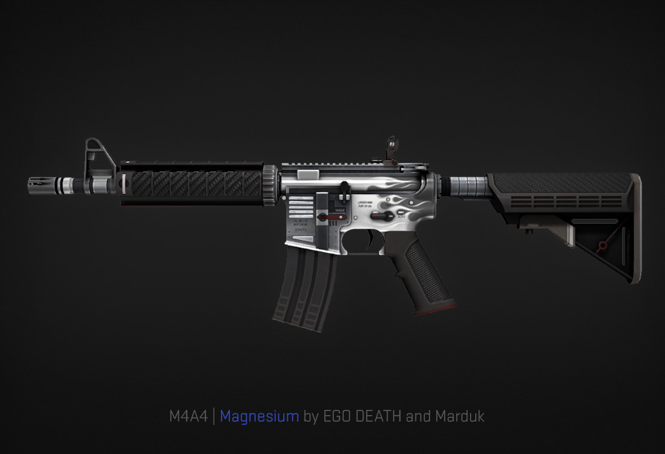 M4A4 Magnesium by EGO DEATH and Marduk
