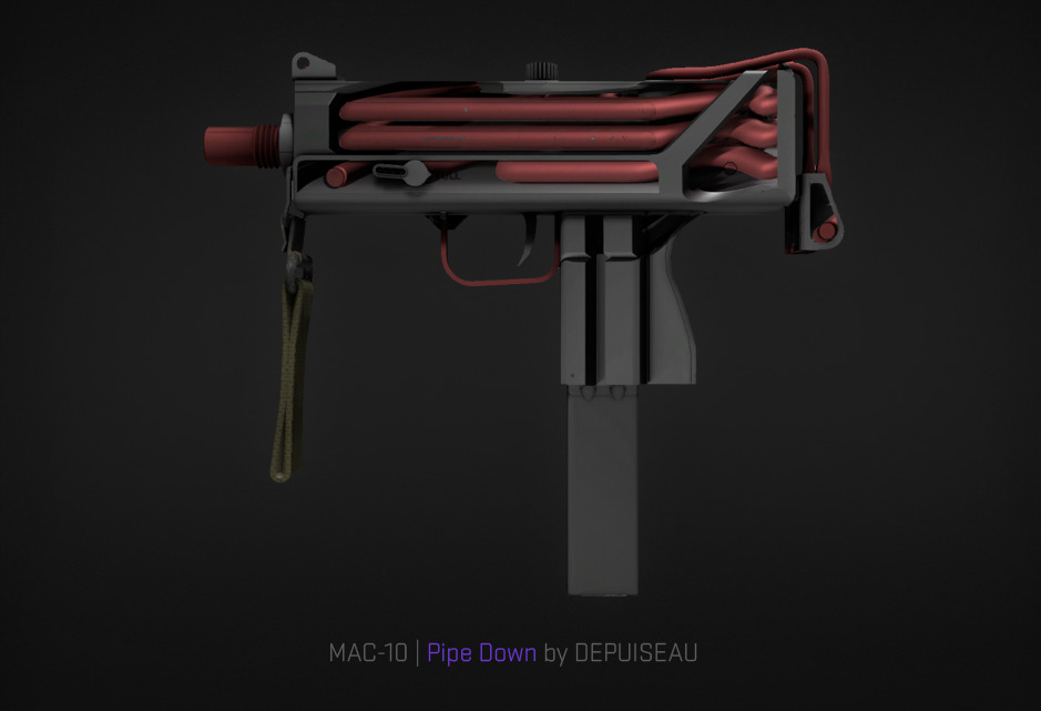 MAC-10 Pipe Down by DEPUISEAU