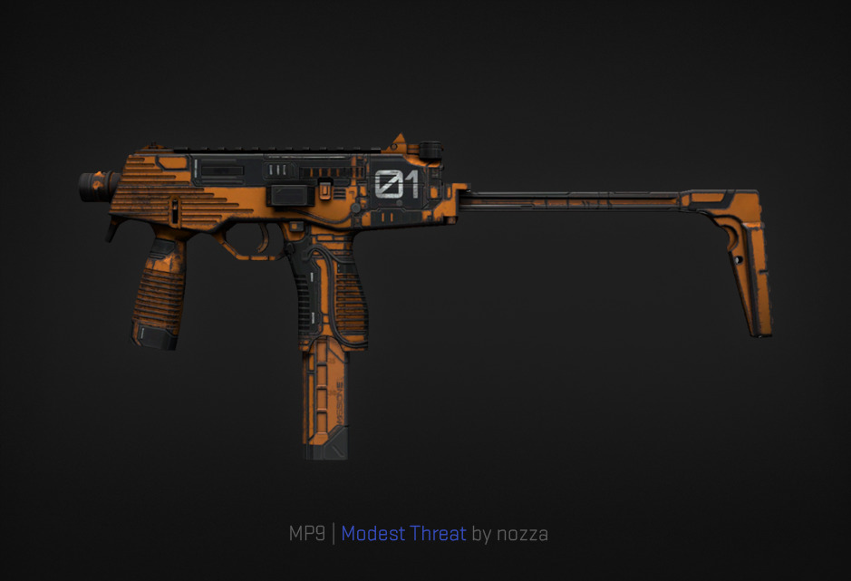 MP9 Modest Threat by nozza