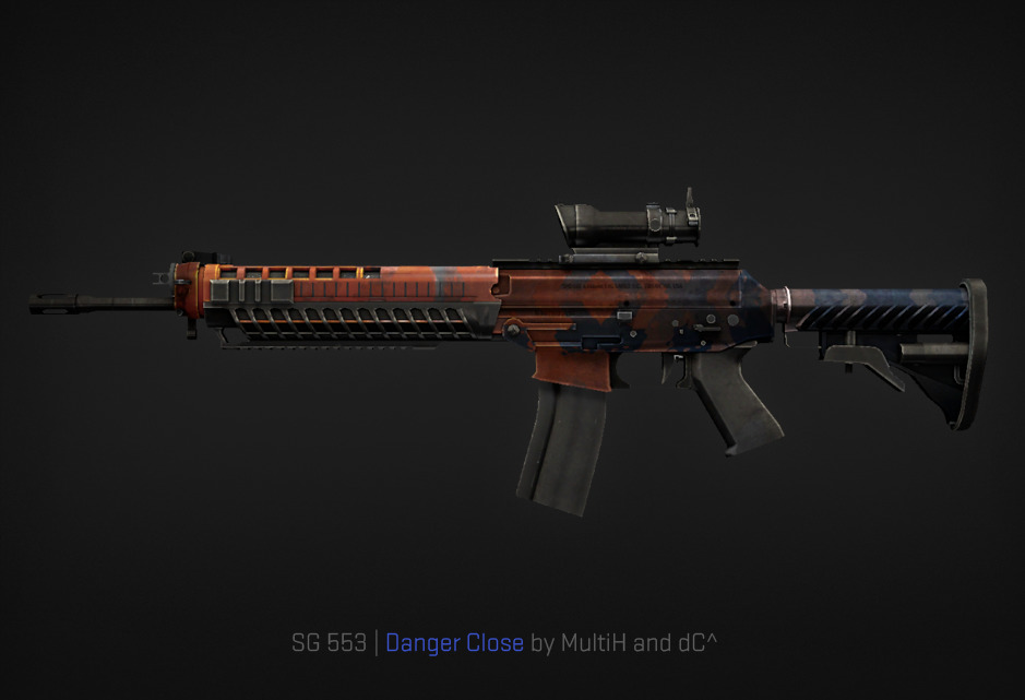 SG 553 Danger Close by MultiH and dC^