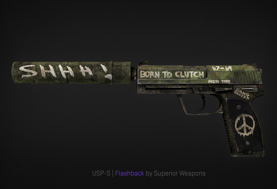 USP-S Flashback by Superior Weapos