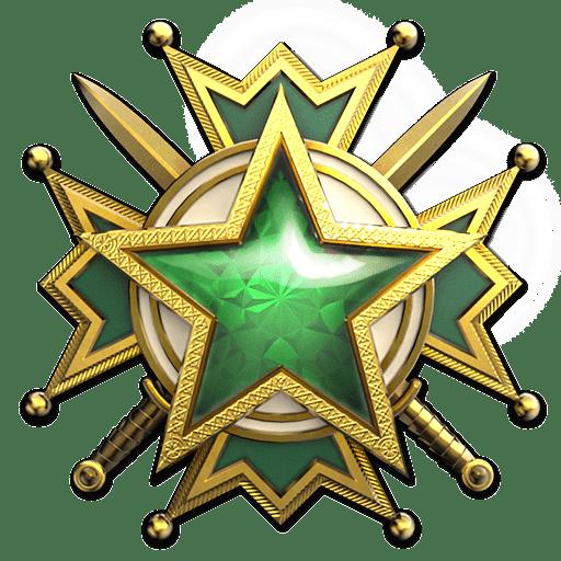 Медаль за службу 2 уровня 2019.