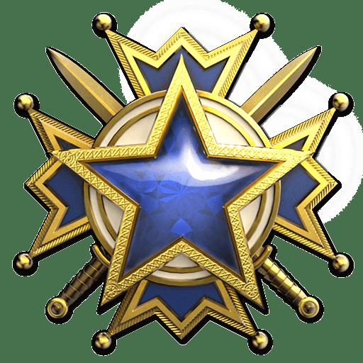 Медаль за службу 3 уровня 2019.