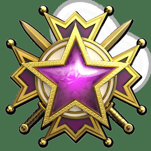 Медаль за службу 5 уровня 2019.