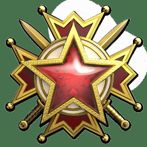 Медаль за службу 6 уровня 2019.