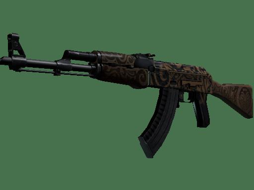 AK-47 Uncharted - скин из кейса Prisma / Призма