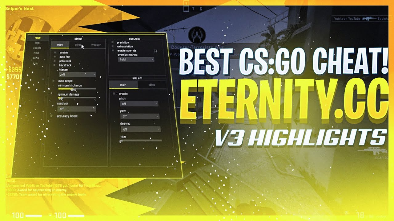 Чит Eternity v3 для CS GO