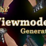 crashz' Viewmodel Generator - карта для настройки положения рук