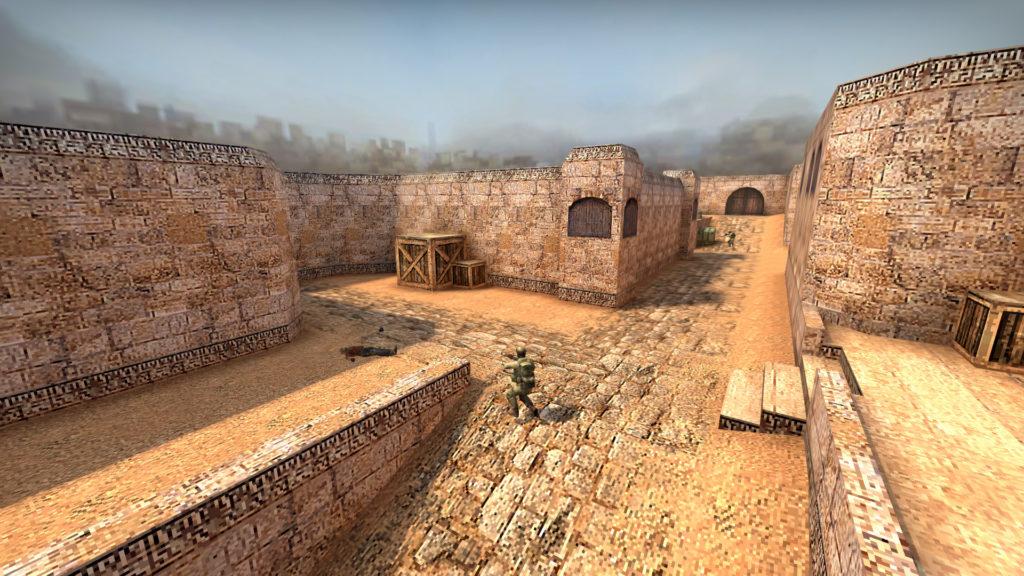 Ретро версия Dust 2 CS:GO