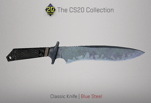 Classic Knife Blue Steel